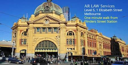 AR LAW Services Melbourne